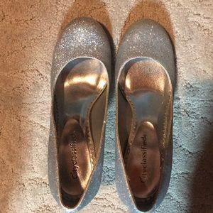 Sparkly heels size 7